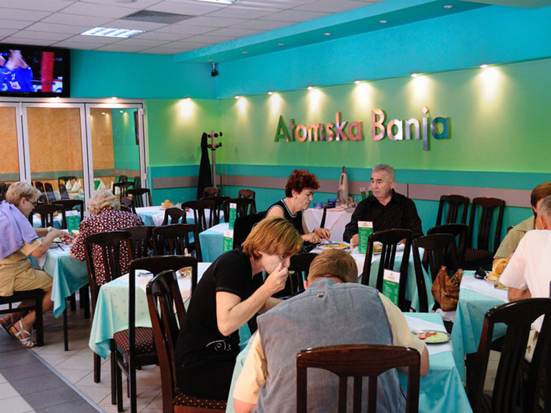 Atomska Banja Gornja Trepča restoran