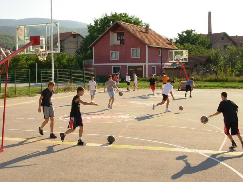 hotel Zdravljak košarkaški teren