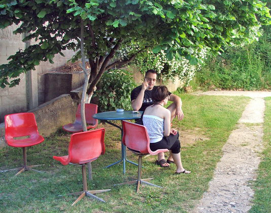 mesto za kafu i odmor