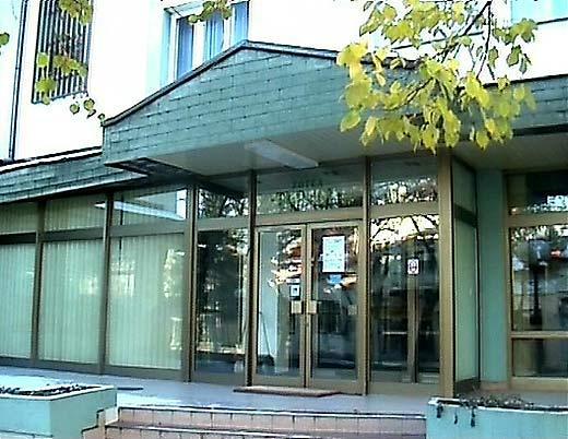 Sokobanja hotel Turist ulaz u hotelu