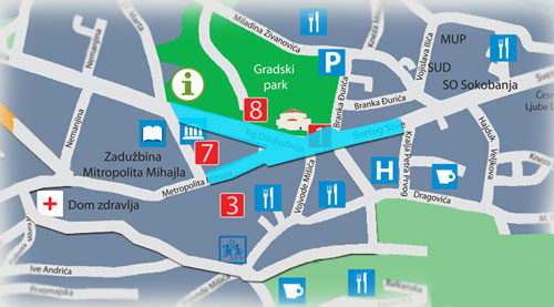 mapa stanova u Sokobanji