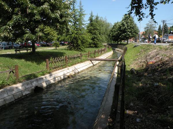 Banja Vrujci reka Toplica