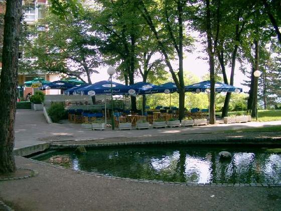 centralni park Niška banja
