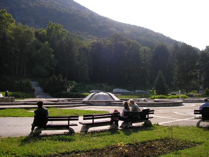 Fontane u Niškoj banji